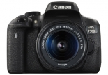 canon eos 750d with ef-s 18-55mm f3.5-5.6 is stm lens kit.1
