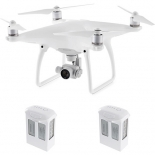 dji phantom 4 quadcopter kit with two spare battery