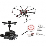 dji spreading wings s1000+ with z15-5diii (hd) gimbal and a2 flight controller