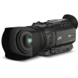 jvc gy-hm170ua 4kcam compact professional camcorder with top handle audio unit.2