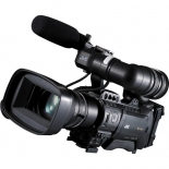 jvc gy-hm850u prohd compact shoulder mount camera with fujinon 20x lens.3