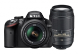 nikon d3200 kit with 18-55mm vr + 55-300 vr lens kit.1