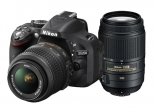 nikon d5200 kit with (18-55mm vr) (55-300mm vr) lens kit.1