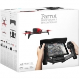 parrot bebop 2 drone with skycontroller (red).7