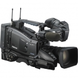 sony pxw-x320 xdcam solid state memory camcorder with fujinon 16x servo zoom lens with 50-pin camera interface.3