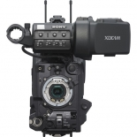 sony pxw-x320 xdcam solid state memory camcorder with fujinon 16x servo zoom lens with 50-pin camera interface.4