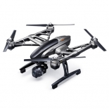 yuneec q500 4k typhoon quadcopter with cgo3 camera, steadygrip, and camera aluminum case (rtf).4