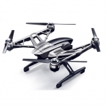 yuneec q500 4k typhoon quadcopter with cgo3 camera, steadygrip, and camera aluminum case (rtf).5