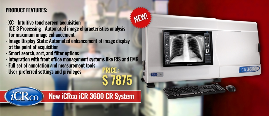 New iCRco iCR 3600 CR System