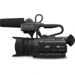 jvc gy-hm200sp 4kcam compact handheld streaming camcorder.2