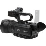 jvc gy-hm200sp 4kcam compact handheld streaming camcorder.4